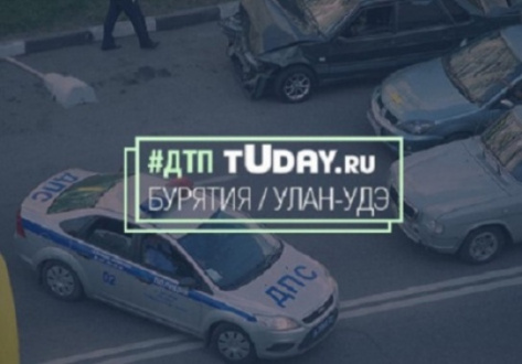 В Улан-Удэ в ДТП пострадали три пассажира
