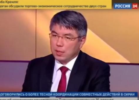 Врио главы Бурятии дал обширное интервью каналу Россия24 (ВИДЕО)