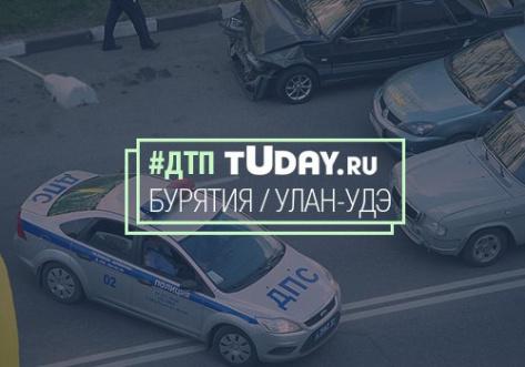 В Улан-Удэ в лобовом ДТП пострадал пожилой водитель (ВИДЕО)