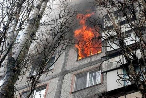 Женщина сгорела при пожаре в Бурятии