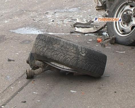 В Улан-Удэ произошло тройное ДТП (Фото)