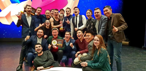 Новая сборная Бурятии по КВН стала чемпионом Азии