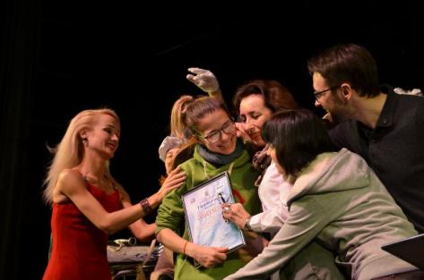 Актриса Русского театра получила дипломом за «Лучшую женскую роль» в Братске