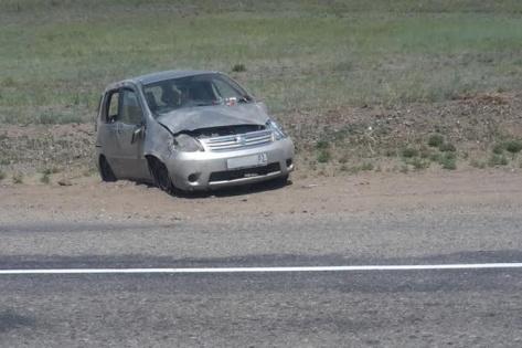 В Бурятии в ДТП пострадала автоледи