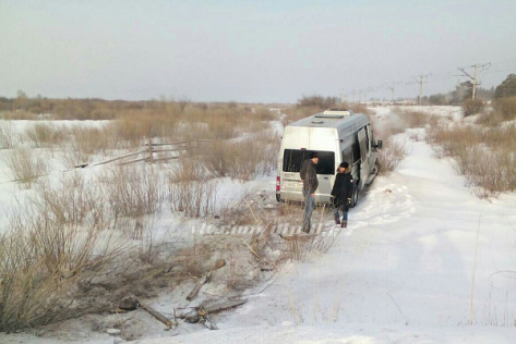 "В Бурятии в ДТП с ""журналистским"" микроавтобусом пострадали двое"