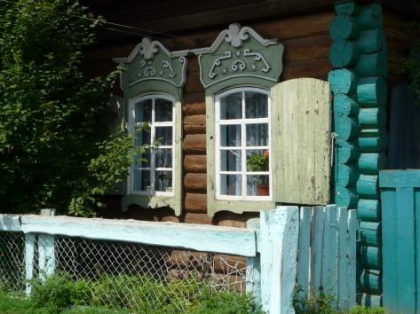 Традиционный дом старообрядцев: в Квебеке его называют домом из круглого дерева