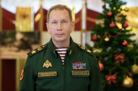 Директор Росгвардии поздравил военнослужащих, сотрудников и ветеранов с Новым годом