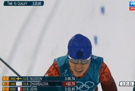 Алиса Жамбалова осталась без медали в спринте на Олимпиаде