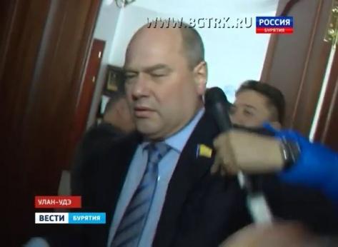 """Россия24"" опубликовал свою версию встречи журналистов с Мэром Улан-Удэ (ВИДЕО)"