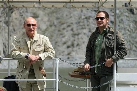 В Туве Путин поймал огромную щуку