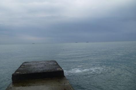 Самое синее Черное море в феврале