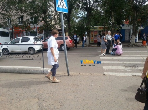 В Улан-Удэ 1 сентября на зебре сбили школьницу (ОБНОВЛЕНО)