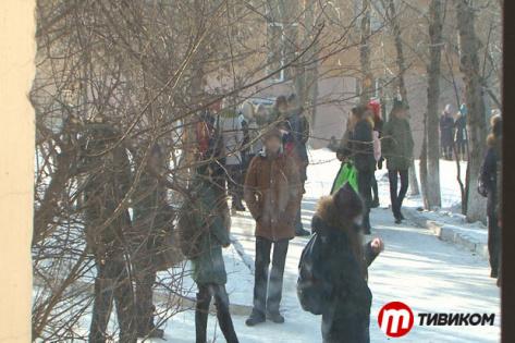 В школе №3 Улан-Удэ распылили слезоточивый газ