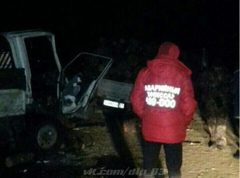 В пригороде Улан-Удэ в ДТП пострадал водитель микрогрузовика