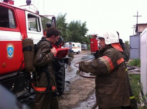 Неосторожное обращение с огнем привело к гибели