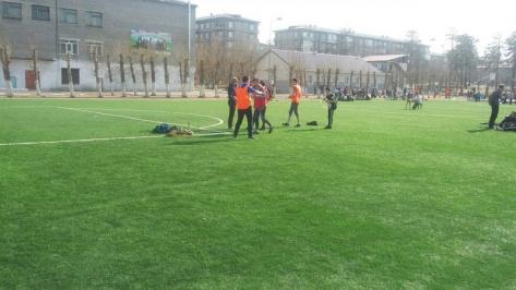 В Улан-Удэ завершено строительство школьного стадиона