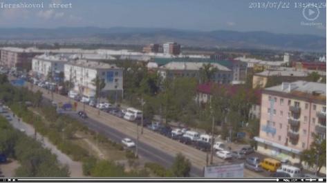 Тройное ДТП в Октябрьском районе стало причиной большой пробки