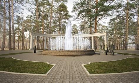 В Улан-Удэ начнется реконструкция парка Орешкова (Эскизы)