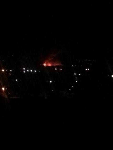 В Улан-Удэ пожар в Октябрьском районе тушили 5 часов подряд