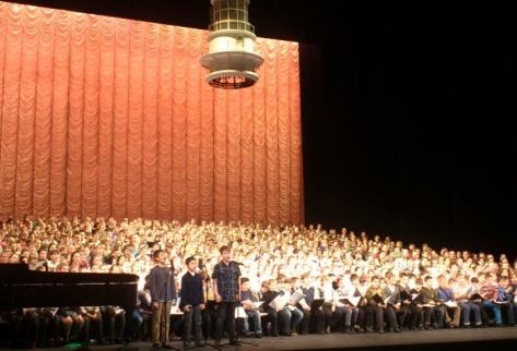 Школьники из Бурятии споют на закрытии Олимпийских зимних игр в Сочи