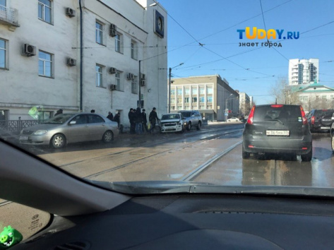 В центре Улан-Удэ произошло тройное ДТП