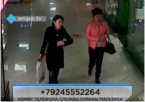 В Улан-Удэ разыскивают воров-модниц