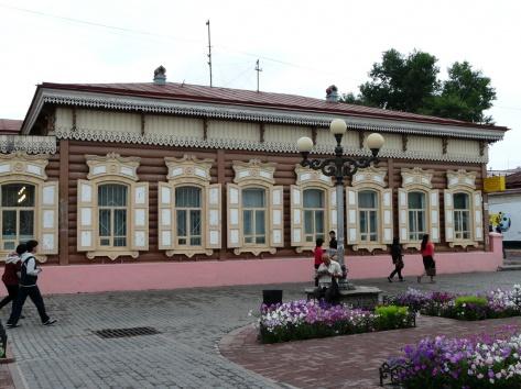 Дом богатого купца, где ночевал цесаревич Николай II