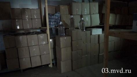 В Улан-Удэ задержали преступную группу торговавшую поддельным и опасным алкоголем