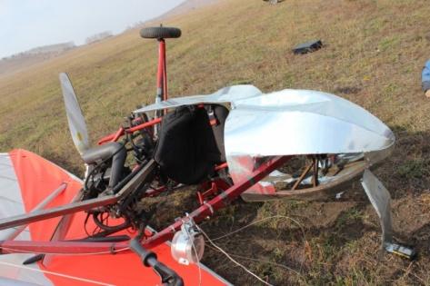 В Забайкалье погиб пилот мотодельтаплана (ФОТО)
