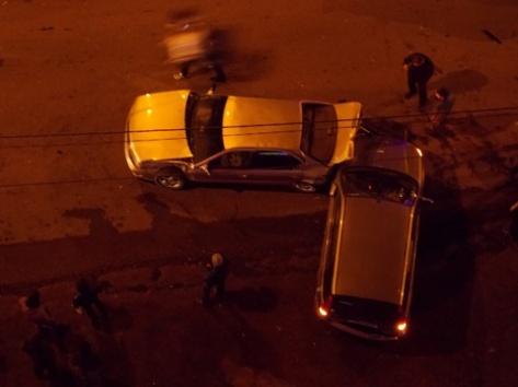 В центре города Улан-Удэ в ДТП попало сразу пять автомобилей