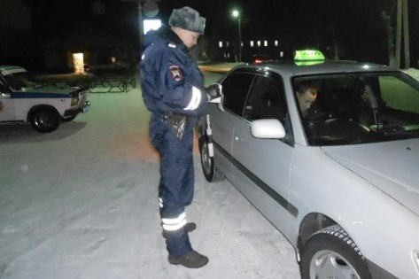 В Бурятии ГИБДД массово проверяет водителей