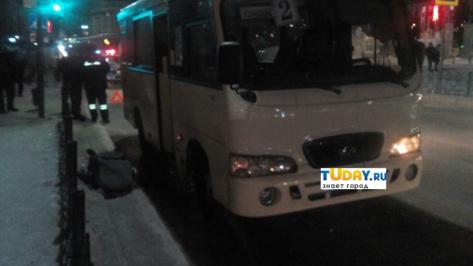 В Улан-Удэ на пл. Советов маршрутка насмерть сбила пешехода (ВИДЕО)