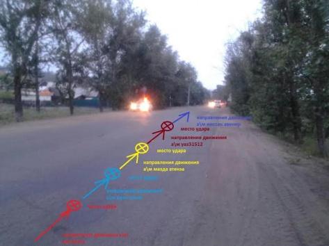 """В результате трех ДТП """"коробочек"""" в Улан-Удэ пострадали трое человек"""