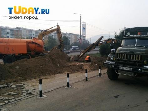 В Улан-Удэ почти весь 47 квартал остался без холодной воды (ОБНОВЛЕНО)