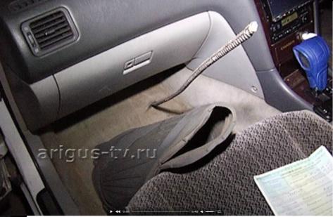 Металлический прут на полном ходу пробил автомобиль улан-удэнца