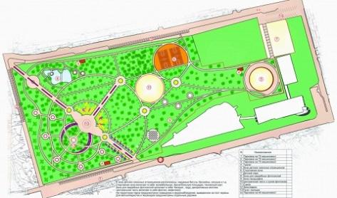 Архитектурный проект парка Юбилейный представлен в Улан-Удэ (Эскизы)