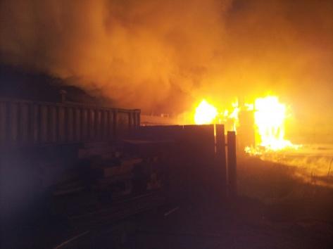 В Улан-Удэ сгорел коттедж известной бизнес-вумен
