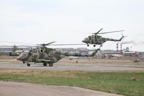 Авиазавод в Улан-Удэ передал Министерству обороны партию вертолетов Ми-8АМТШ