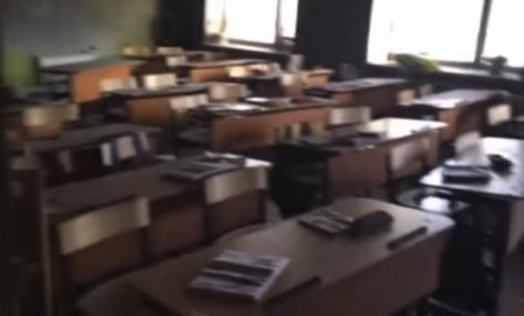 школа №5 после нападения в январе