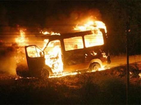 За сутки в Бурятии произошло 2 поджога
