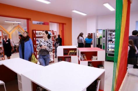 В Улан-Удэ открылась библиотека нового формата