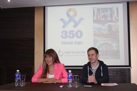 Анита Цой собрала пресс-конференцию перед выступлением в Улан-Удэ