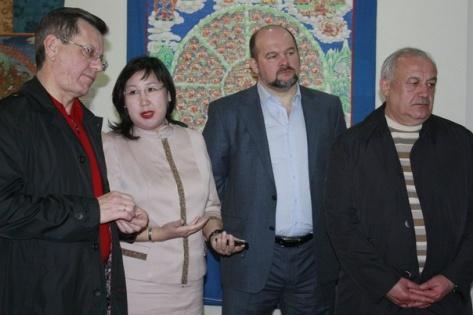 Российские чиновники узнали об истории Бурятии
