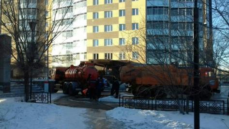 Авария на Ключевской в Улан-Удэ оставила 21 дом без холодной воды
