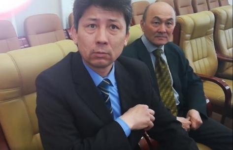 Начальник управления по ЧС администрации Улан-Удэ Валерий Вильдавский