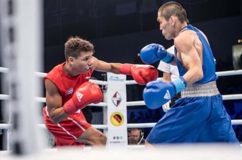 Тамир Галанов стал бронзовым призером Чемпионата мира по боксу (ВИДЕО)