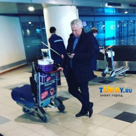 Вячеслав Наговицын вернулся в Бурятию