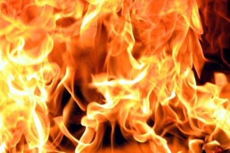 Пожар в Советском районе