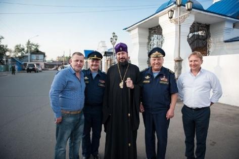 Бурятию с рабочим визитом посетил командующий воздушно-десантных войск России (Фото)