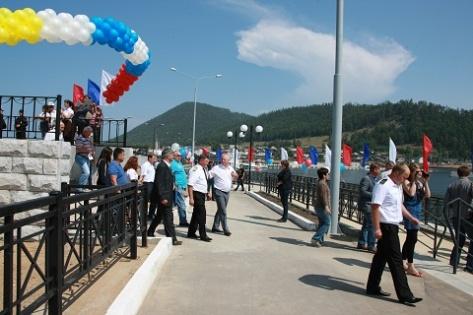 В Бурятии состоялось открытие нового причального участка «Турка» (Фото)